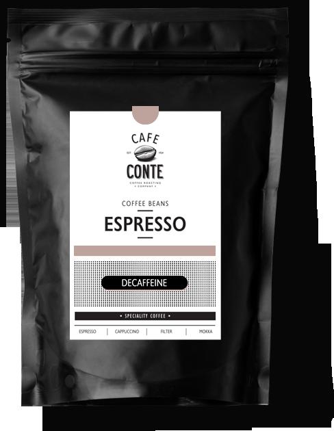 Espresso Decaffeine  (100% Arabica)
