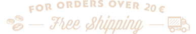 Free shipping over 20 euro