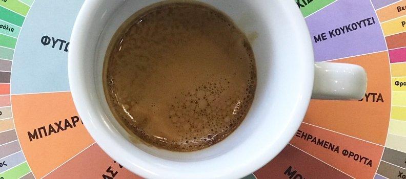 Εκτίμηση της γεύσης του καφέ